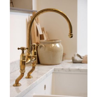 the perfect antique brass tap by deVOL - The deVOL
