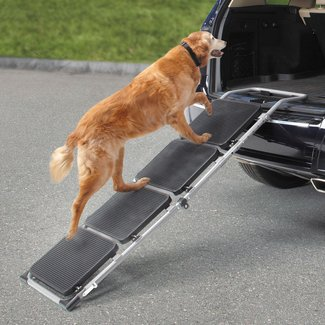 The Portable Pet Staircase or Ramp Tubular Steel Frame 58