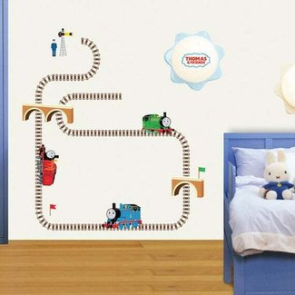 THOMAS AND FRIENDS THE TRAIN Decor Wall Sticker Kids TMS-703