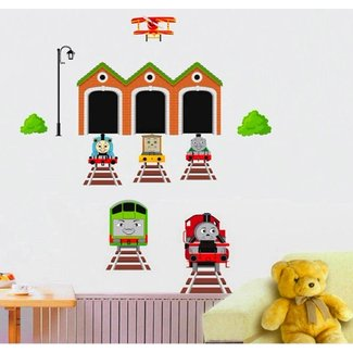 Thomas the Tank Engine Wall Decal for Kid's Room Decor
