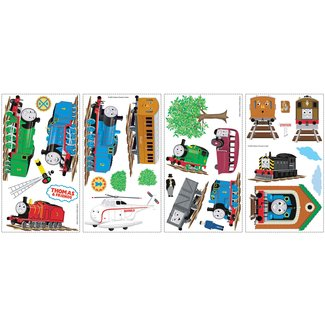 THOMAS THE TANK ENGINE WALL DECALS Train Stickers Boys Bedroom Decorations:New free shipping by WW shop