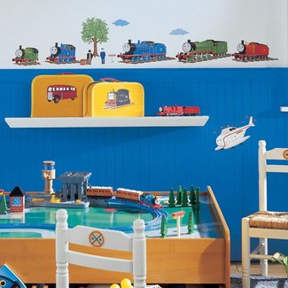 THOMAS THE TANK ENGINE wall stickers 27 decals trains room