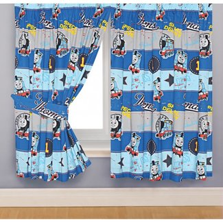Thomas The Train Bedroom Decor Curtain — Office and Bedroom