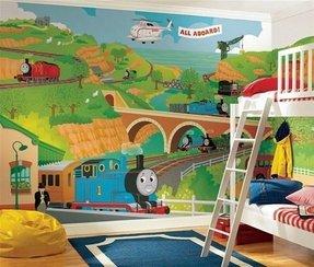 Thomas The Tank Engine Bedroom Decor  from visualhunt.com