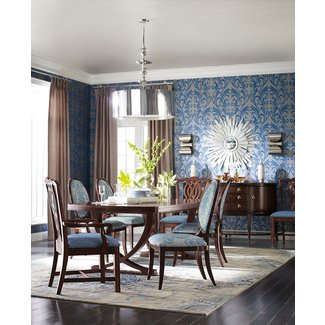 Thomasville Spellbound Double Pedestal Dining Table