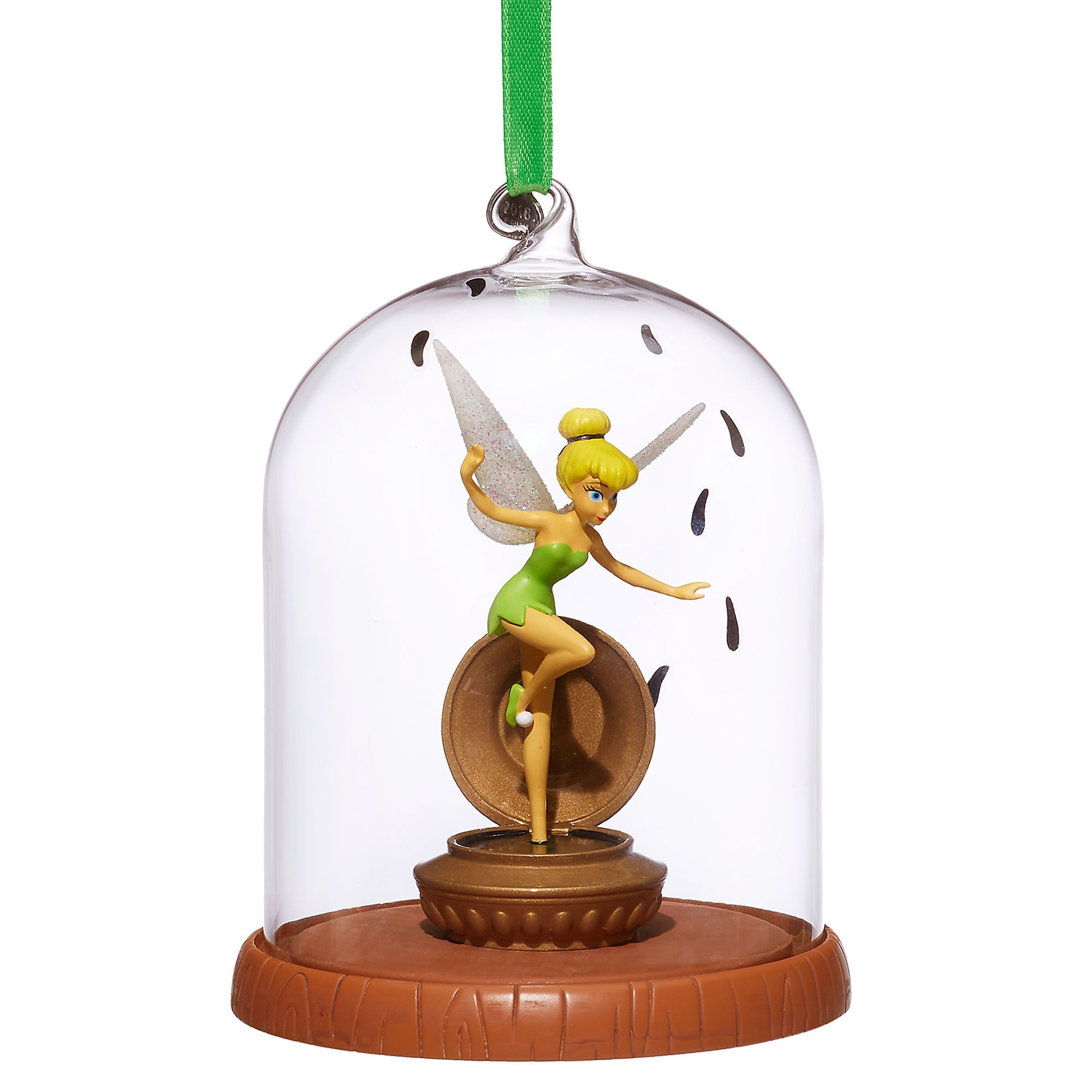 Tinkerbell Tinker Bell Glass Dome