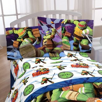 TMNT 3 Piece Stars Sheet Set