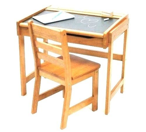 Toddler Desk With Attached Chair |