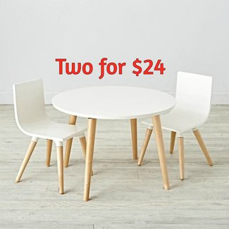 Toddler Play Table And Play Chair Set | The Land