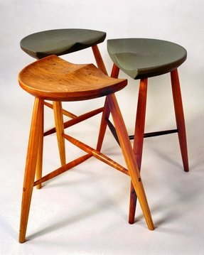 Peachy 50 Wooden Tractor Seat Bar Stools Youll Love In 2020 Caraccident5 Cool Chair Designs And Ideas Caraccident5Info