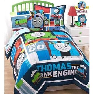 Train Bedroom Ideas Tank Thomas Bed Sheet Sets Toddler ...