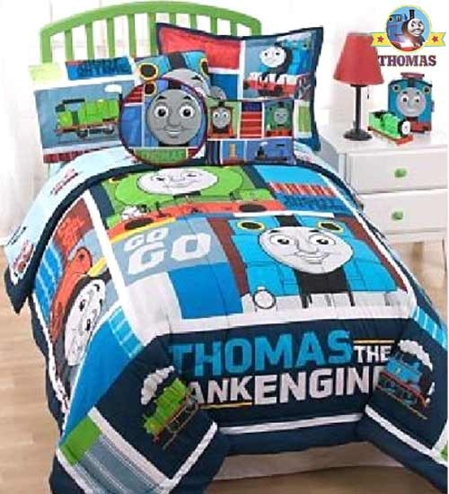 Train Bedroom Ideas Tank Thomas Bed Sheet Sets Toddler .