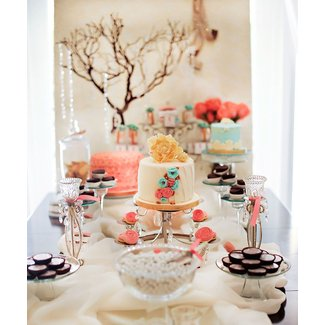 """Tres Shabby Chic"" Baby Shower Brunch // Hostess with the"