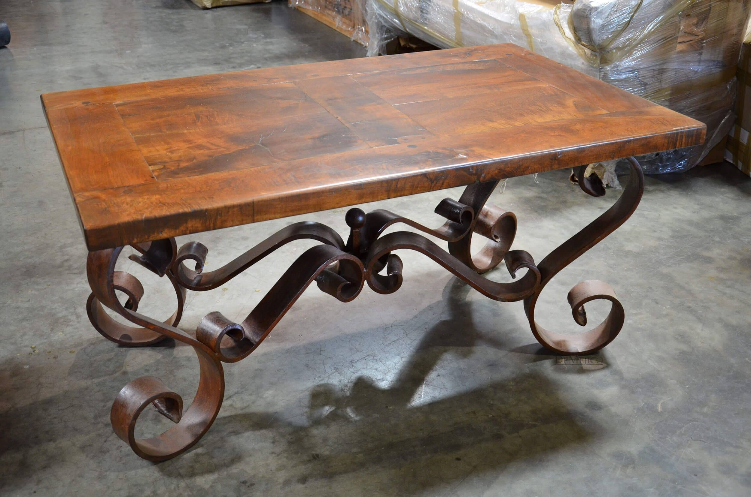 Two Colored Wrought Iron Coffee Table U2014 Coffee Tables Ideas