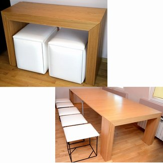 Uncategorized : Space Saving Table And Chairs Intended For ...