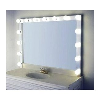 Vanities ~ Light Bulb Vanity Mirror Vanity Mirror With ...