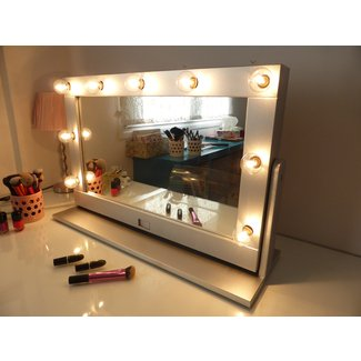 Vanity Makeup Mirror With Light Bulbs - Makeup Vidalondon