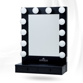 Vanity Mirror With Light Bulbs In Superb Light Diy Vanity