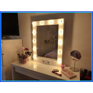Vanity Mirror With Light Bulbs The Difference Between Led ...