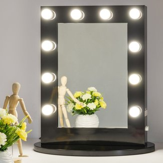 Vanity Mirror with Light Hollywood Makeup Mirror Wall ...