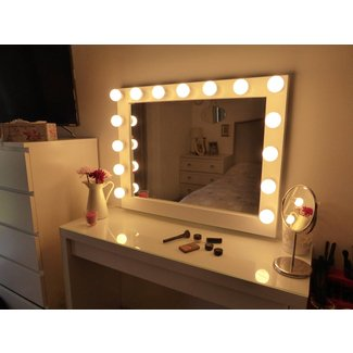 Vanity Table With Lighted Mirror Ikea –