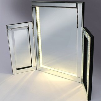 Venezuela Vanity Mirror With LED Lights 23890 Furniture in