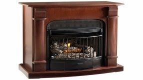 50 free standing ventless gas fireplace up to 70 off visual hunt rh visualhunt com  vent free lp gas fireplace logs