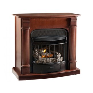 Ventless wall fireplace, vent free propane gas fireplace ...