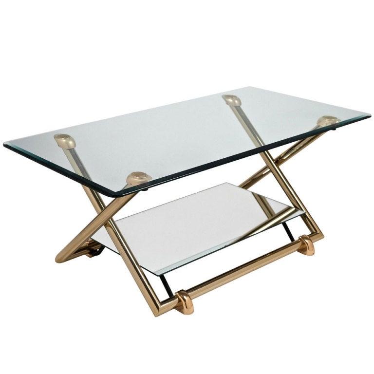 Vintage Adjustable Height Coffee Table At 1stdibs