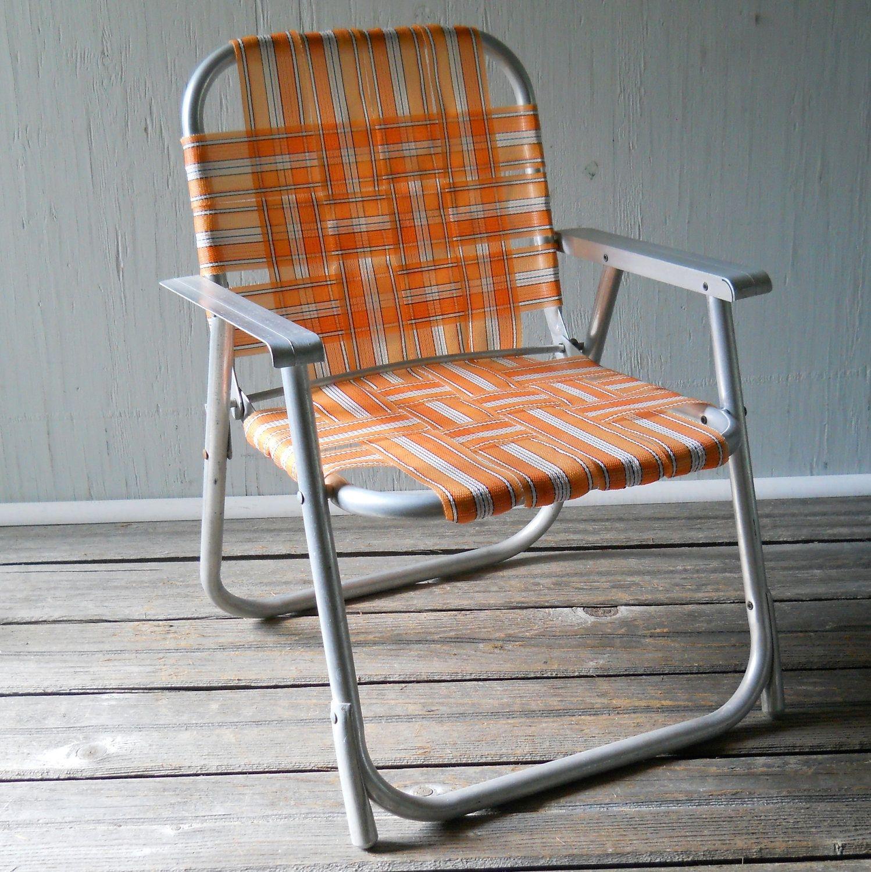 Merveilleux Vintage Folding Lawn Chair Childu0027s Aluminum Folding Chair .