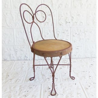 Vintage Ice Cream Parlor Childs Chair