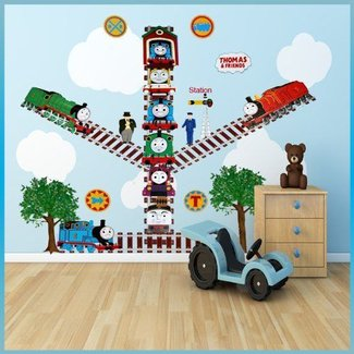 Wall Decor. Awesome Thomas The Train Wall Decor: Thomas ...