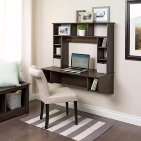 50 Wall Mounted Computer Desk You Ll Love In 2020 Visual Hunt