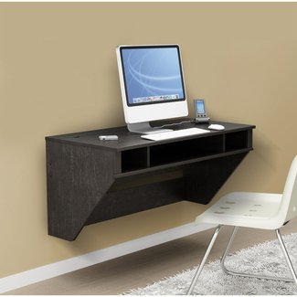 Wall Mounted Desk: Wall Mounted Computer Desk