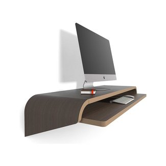 Wall-Mounted Floating Desks : floating desks