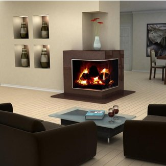 What are Ventless Gas Fireplaces? (with pictures)