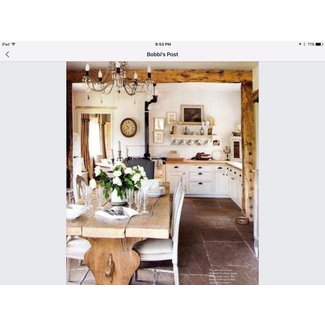 White French Kitchen | Indeed Decor | French Farmhouse ...