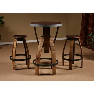 Wine Barrel Stave Furniture, Wine Barrel Bar Stool, stave ...