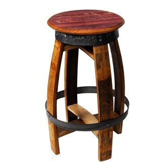 Wine Barrel Table With Bar Stools. Bella Barrel Contact ...