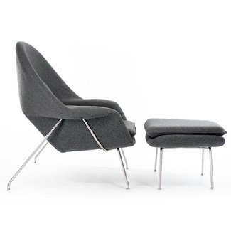 Womb Chair & Ottoman inspired by Eero Saarinen A Modern