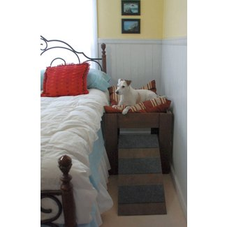 Wood Raised Elevated Dog Bed Furniture. Put Your Pet Next