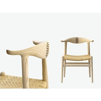 WOODEN CHAIR PP505 THE COW HORN CHAIR BY PP MØBLER
