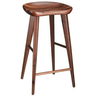 Wooden Tractor Seat Bar Stools - goenoeng