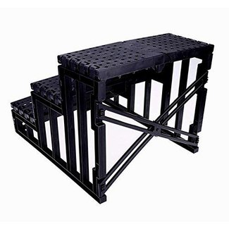 WOOKRAYS Pet Stairs Ramp Dog Steps for High Bed 3