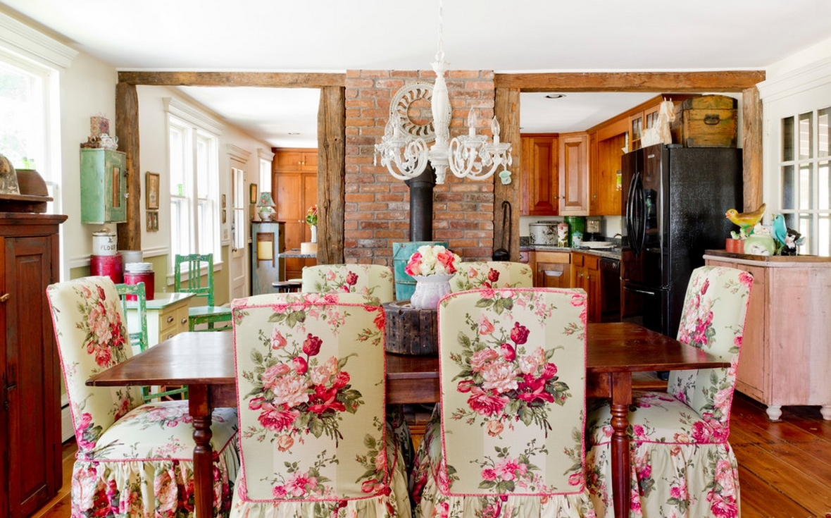 Floral Dining Room Chair Covers