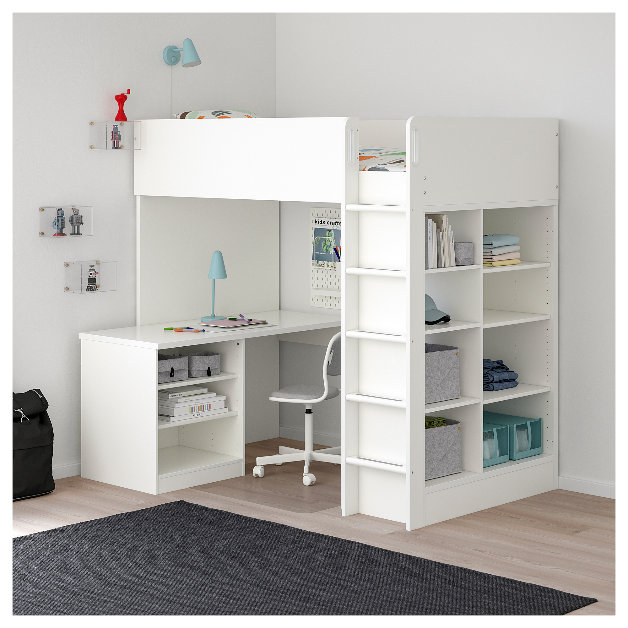 best sneakers a062a 2d123 50+ IKEA Loft Beds You'll Love in 2020 - Visual Hunt