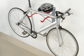 Bike Mounted on Wall