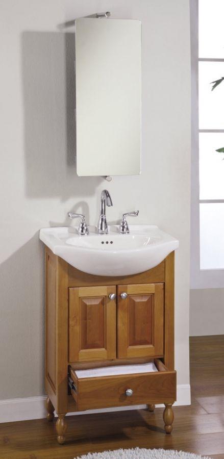 Narrow Depth Bathroom Vanity You Ll, Small Bathroom Vanity Sinks
