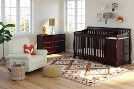 Crib Changing Table Combo