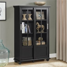 50 Bookcase With Gl Doors You Ll